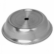 Крышка для тарелки, сталь нерж., D=270,H=75мм, металлич.