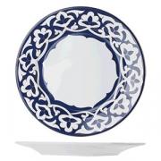 Тарелка мелкая «Восток Голд», фарфор, D=27см, синий,золотой