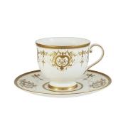 Чашка с блюдцем Тиара Голд