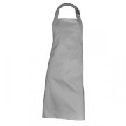 Фартук с грудкой и карманом, полиэстер,хлопок, L=92,B=70см, серый
