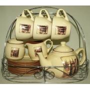 Чайный сервиз «Итальянская деревня»