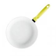 Сковорода; алюм.литой,керамика; D=24см