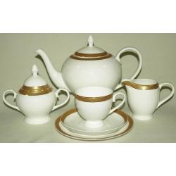 Чайный сервиз «Греческая линия 2» 40 предметов на 12 персон
