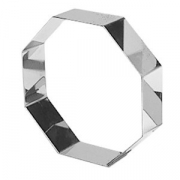 Форма конд.8-угольная; сталь нерж.; H=4,L=24,B=24см