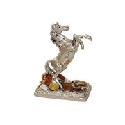 Статуэтка Лошадь с монетами (серебро)