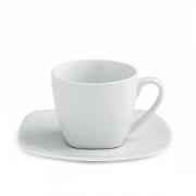 Чашка чайн «Сквэа«200мл+блюдце фарфор