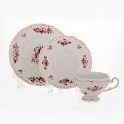 Набор чайный 6 перс. 18 пред. подарочный «Роза»