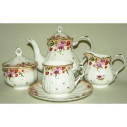 Чайный сервиз «Виолетта» на 6 персон 15 предметов