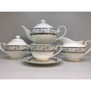 Сервиз чайный «Киото» 17 предметов на 6 персон