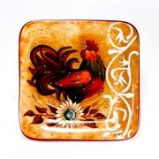 Набор 4 тарелки дессертные 22 см. «Лильский Петух»