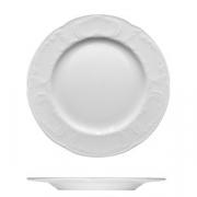 Тарелка мелкая «Моцарт», фарфор, D=25см, белый