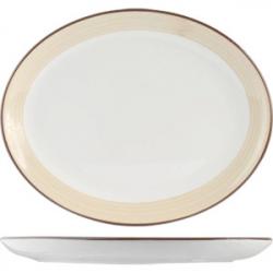 Блюдо овал «Чино» 28см