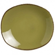 Тарелка овал «Террамеса олива» 20.25см