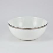 Салатник 22.5*29см «Серебряная вышивка»