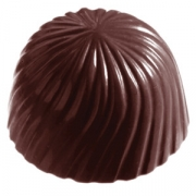 Форма для шоколада «Роза» [24шт]; поликарбонат; D=29,H=19см