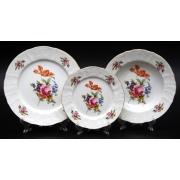 Набор тарелок «Полевой цветок 5309011» 18шт. на 6 перс.