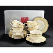 Чайный набор Kency Oro на 6 персон 12 предметов