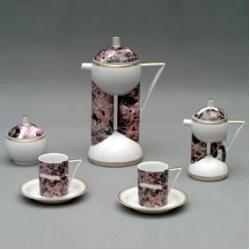 Кофейный сервиз «Дуо» на 6 персон 9 предметов