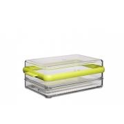 Контейнер для хранения нарезки «Стора» (Stora) Rosti Mepal 1,65 л. 23,7 х 15,2 х 8,9см (1,65л.) (салатовый)