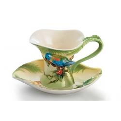 Чашка с блюдцем «Джунгли Амазонки»