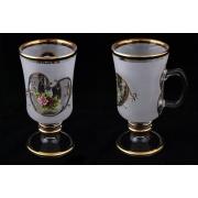 Набор стаканов для чая на 6 перс. «Роза»