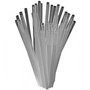 Трубочки «Фло» [500шт], D=3,L=100мм, прозр.