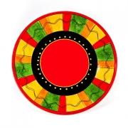 Набор 4 тарелки подстановочные 27см «Красный перец»