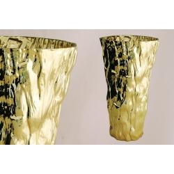 Ваза для цветов 40 см «Moss Gold»