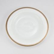 Набор 6 тарелок 19см «Золотая вышивка»