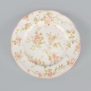 Набор 6 тарелок 17,5 см. «Садовая Роза»