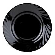 Тарелка «Трианон» d=19.5см черная