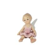 Статуэтка Девочка - ангелочек (мечтающая)