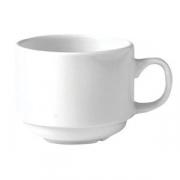 Чашка чайн «Монако вайт» 210мл фарфор
