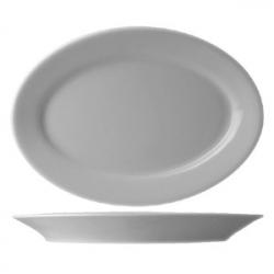 Блюдо овал «Прага» 36см фарфор