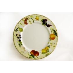 Обеденная тарелка «Фруктовое ассорти»  27 см