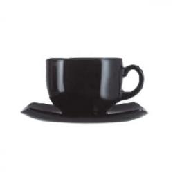 Набор чайн.пар «Квадрато» черный 160мл 6ш