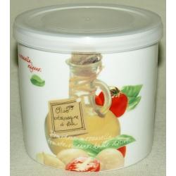 Банка для сыпучих продуктов «Помидоры и моцарелла» 10 см (0,45 л)