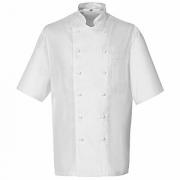 Куртка поварская,р.46 без пуклей, полиэстер,хлопок, белый