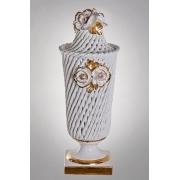 Настольная лампа «Розы» 46 см. золото