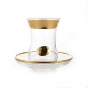 Набор для чая 100 мл. на 6 перс. 12 пред. «Голд»