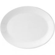 Блюдо овал. «Монако Вайт» L=28, B=21.5см; белый