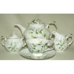 Чайный сервиз «Лилия» на 6 персон 15 предметов