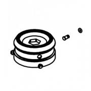 Механизм перекл.в сборе к соковыж.50C; пластик; D=90,H=43мм; серый