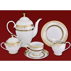 Чайный сервиз «Итальянское кружево» на 6 персон 21 предмет