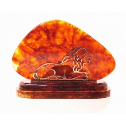Визитница «Лев»