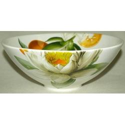 Салатник «Апельсины и кувшинки» 25 см