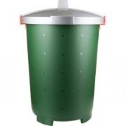 Бак с крышкой «Бинго» D=48, H=61см; зелен. , серый