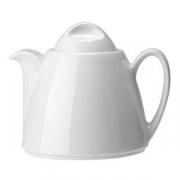 Чайник «Лиф»; фарфор; 350мл; белый