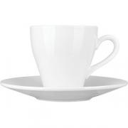 Пара чайная «Кунстверк» фарфор; 250мл; белый