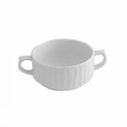 Бульонная чашка «Нестор», фарфор, 320мл, D=105,H=50,L=145мм, белый